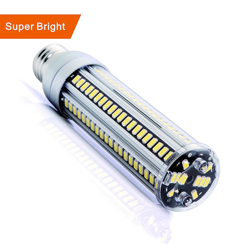 lumiereholic 25 W超明るいトウモロコシLEDライト電球(250 W相当) – ベース2900lumens (116lm/W) 6500 Kデイライトクールホワイトfor Large領域照明 – ホームPorchガレージ倉庫PostランプStreet Lights B07D2CZB47