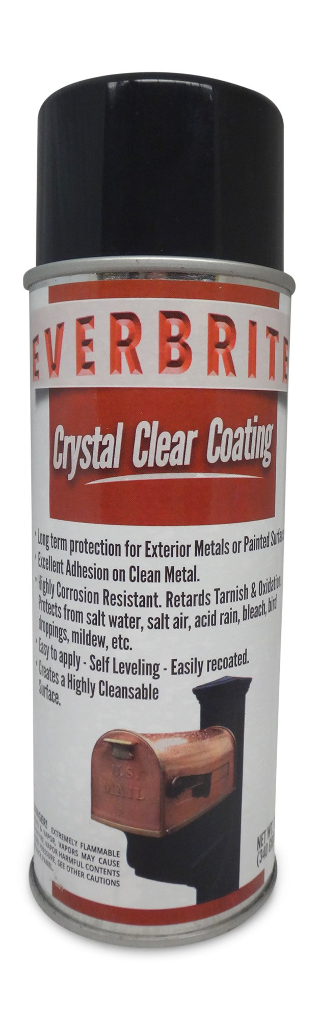 EVERBRITE 12 Oz. Aerosol Clear, Protective Coating for Metal by EverBrite (Image #1)