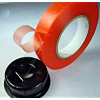 Wonder 8 mm Strong Acrylic Adhesive Clear Double Sided Tape Heat Resistant Double-sided Transparent Clear Adhesive Tape 25 Mts