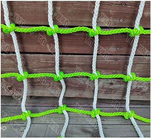 Red de Seguridad, red de Cuerda de Escalera Oscilante Nylon Para Escalada Al Aire Libre Montañismo Infantil Remolque de Escalera de Cuerda Fija Red de Cubierta Pesada Redes de Protección de Escaleras: