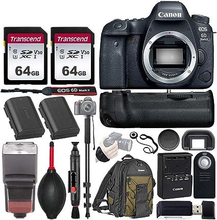 Amazon.com: Canon EOS 6D Mark II - Cámara réflex digital con ...
