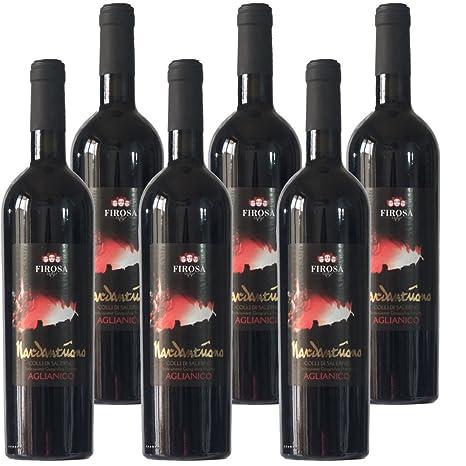 5134ab99f5 Aglianico IGP Nardantuono Colline Salernitane|Cantina Firosa|I Vini della  Campania|Confezione da 6 Bottiglie da 75 Cl|Idea Regalo: Amazon.it:  Alimentari e ...