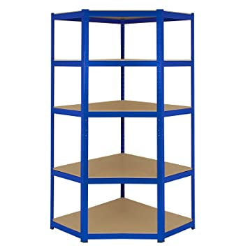Corner Shelves Garage Racking 90cm X 45cm 180cm Storage Unit 5