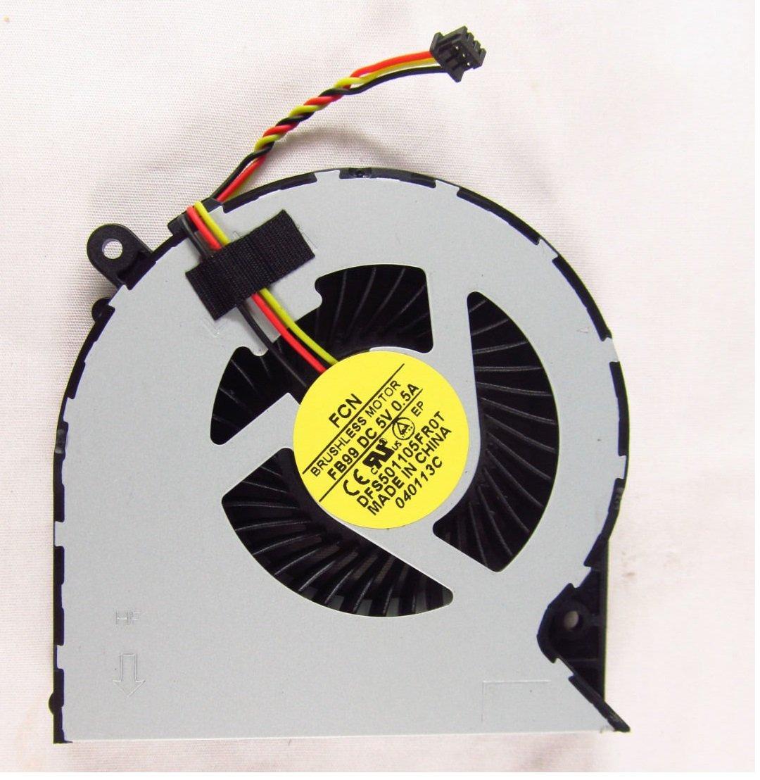 wangpeng New Laptop CPU Cooling Fan for Toshiba Satellite C850 C855 C870 C875 L850 L870 L870D L875 L875D DFS501105FR0T KSB06105HA MG62090V1-Q030-S99 (3 pin)