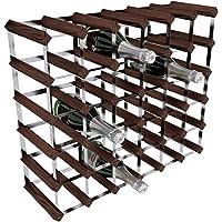 RTA, Porta-Bottiglie di Vino, 36 Posizioni, Marrone (Mahogany)
