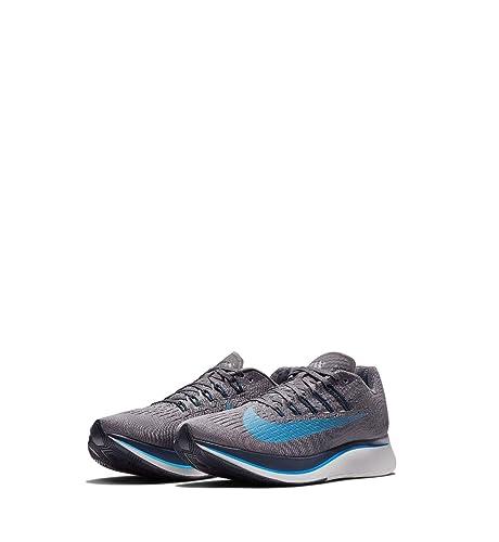 84b9e1441c3 NIKE Men sZoom Fly Running Shoe Gunsmoke Blue Hero-Obsidian-Thunder Grey