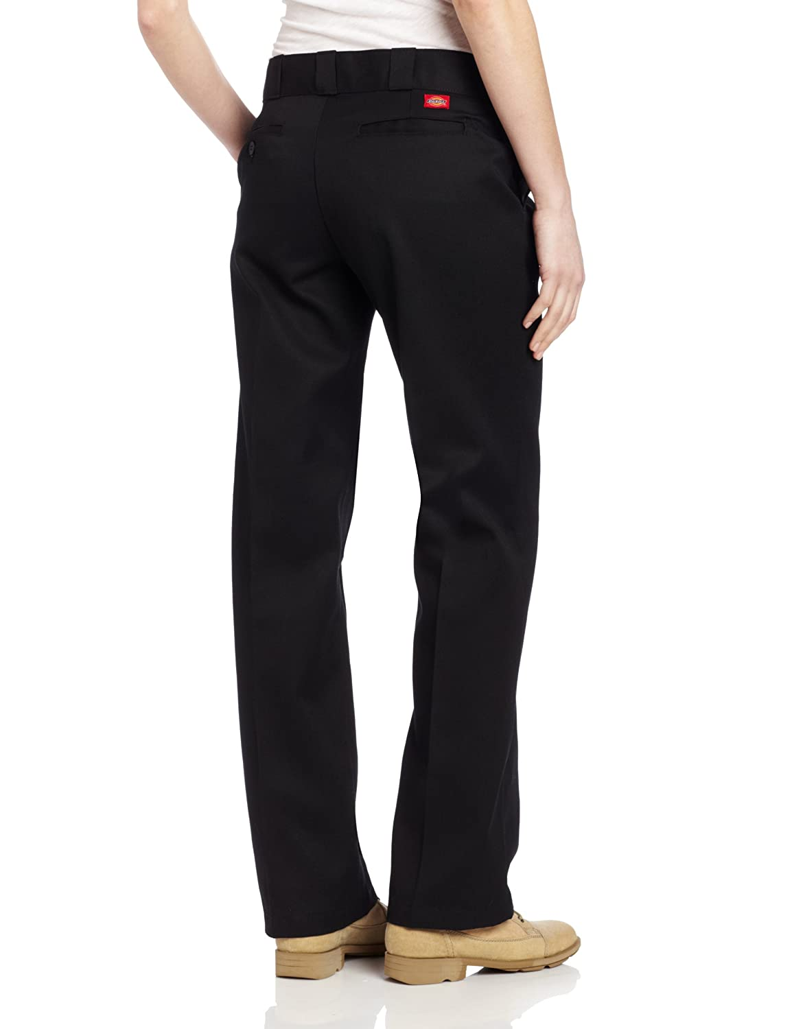 Dickies Women s Original Work Pant with Wrinkle And Stain Resistance at  Amazon Women s Clothing store  Work Utility Pants 444e1ff351