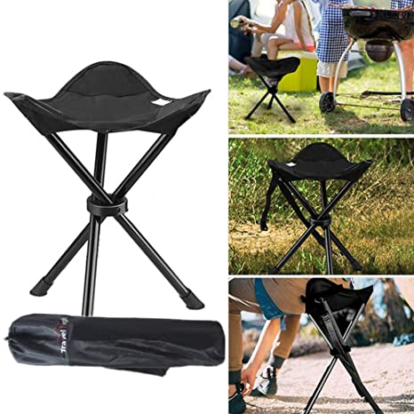 Marvelous Amazon Com Small Folding Camping Stool Portable Tripod Uwap Interior Chair Design Uwaporg