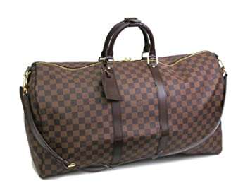 Louis Vuitton Keepall BANDOULIERE 55 Damier Ebene  Amazon.fr  Sports ... ac6f9d35c91