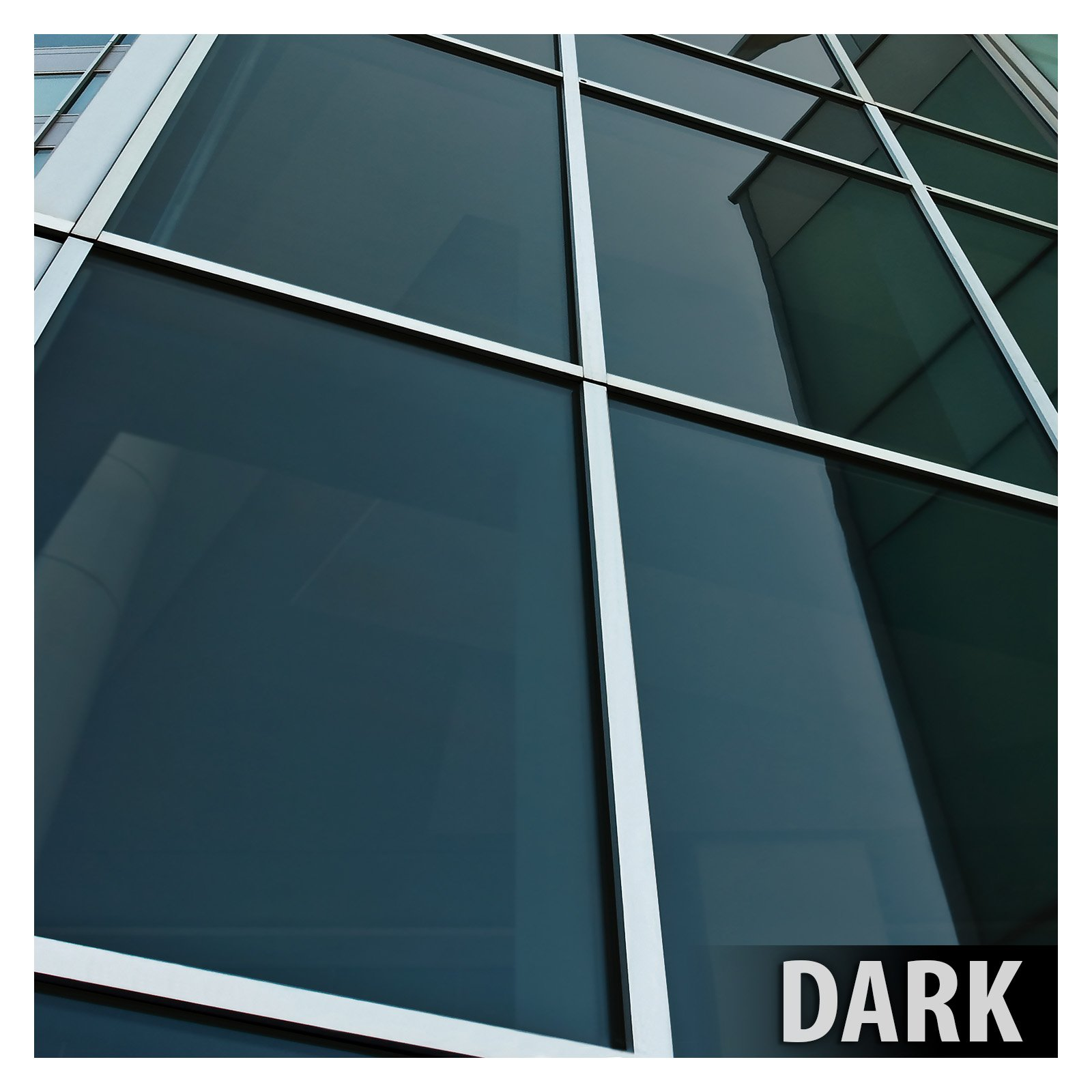 BDF NA20 Window Film Privacy and Sun Control N20, Black (Dark) - 24in X 14ft by Buydecorativefilm