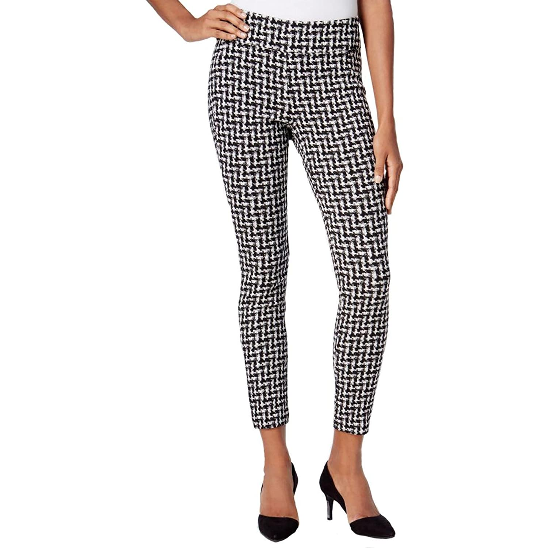 Bar III Women's Checkered Skinny Pants free shipping