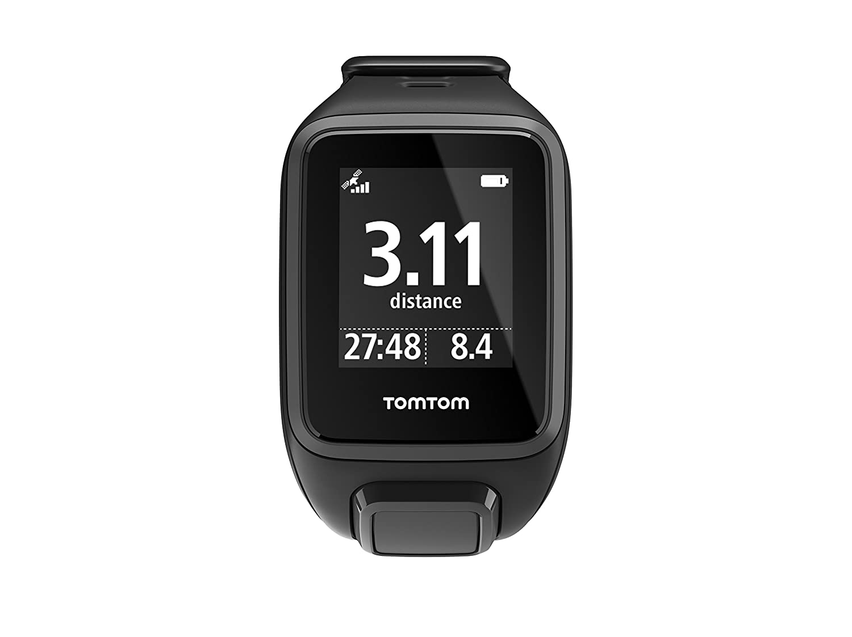 TomTom Runner2 - Reloj deportivo, color negro / gris, talla L (121-175 mm): Amazon.es: Deportes y aire libre
