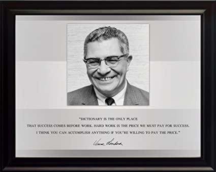 Amazoncom Wesellphotos Vince Lombardi Photo Picture Poster