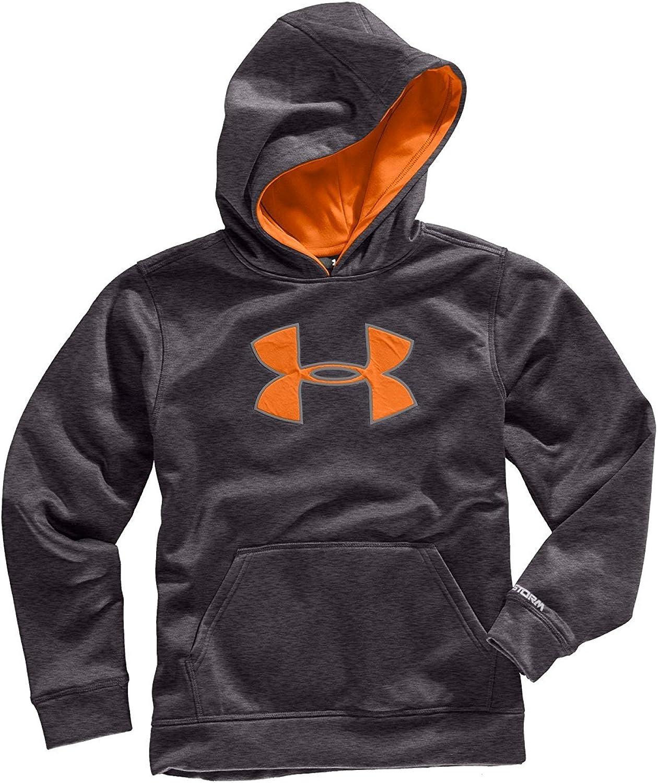 Boys' Armour Fleece Storm Big Logo Pullover Hoody