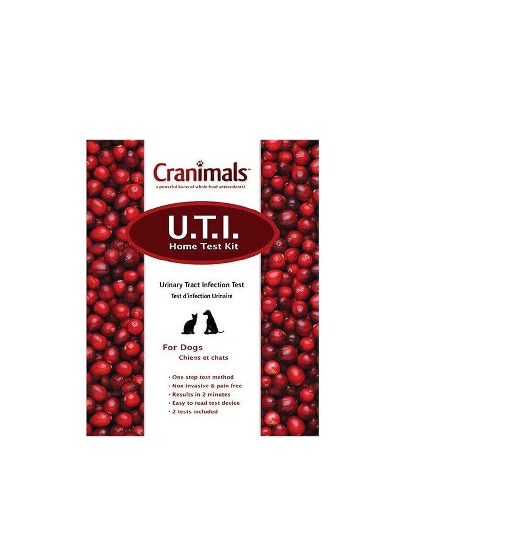 海外直送品Cranimals Cranimals UTI Test Kit For Dogs, 1 Kit B00D4NKNWU