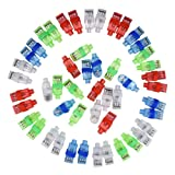 Mudder LED Finger Lights, Party Bright Finger Flashlights (50 Pieces)