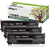 kingjet Canon CRG-337(3本セット)汎用互換トナーカートリッジ 印刷枚数 2400 ICチップ付き残量検知