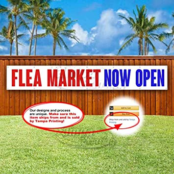Advertising Flower Shop Now Open Extra Large 13 oz Heavy Duty Vinyl Banner Sign with Metal Grommets New Flag, Many Sizes Available Store