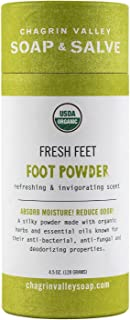 product image for Chagrin Valley Soap & Salve, Fresh Feet, Natural and Organic Foot Powder