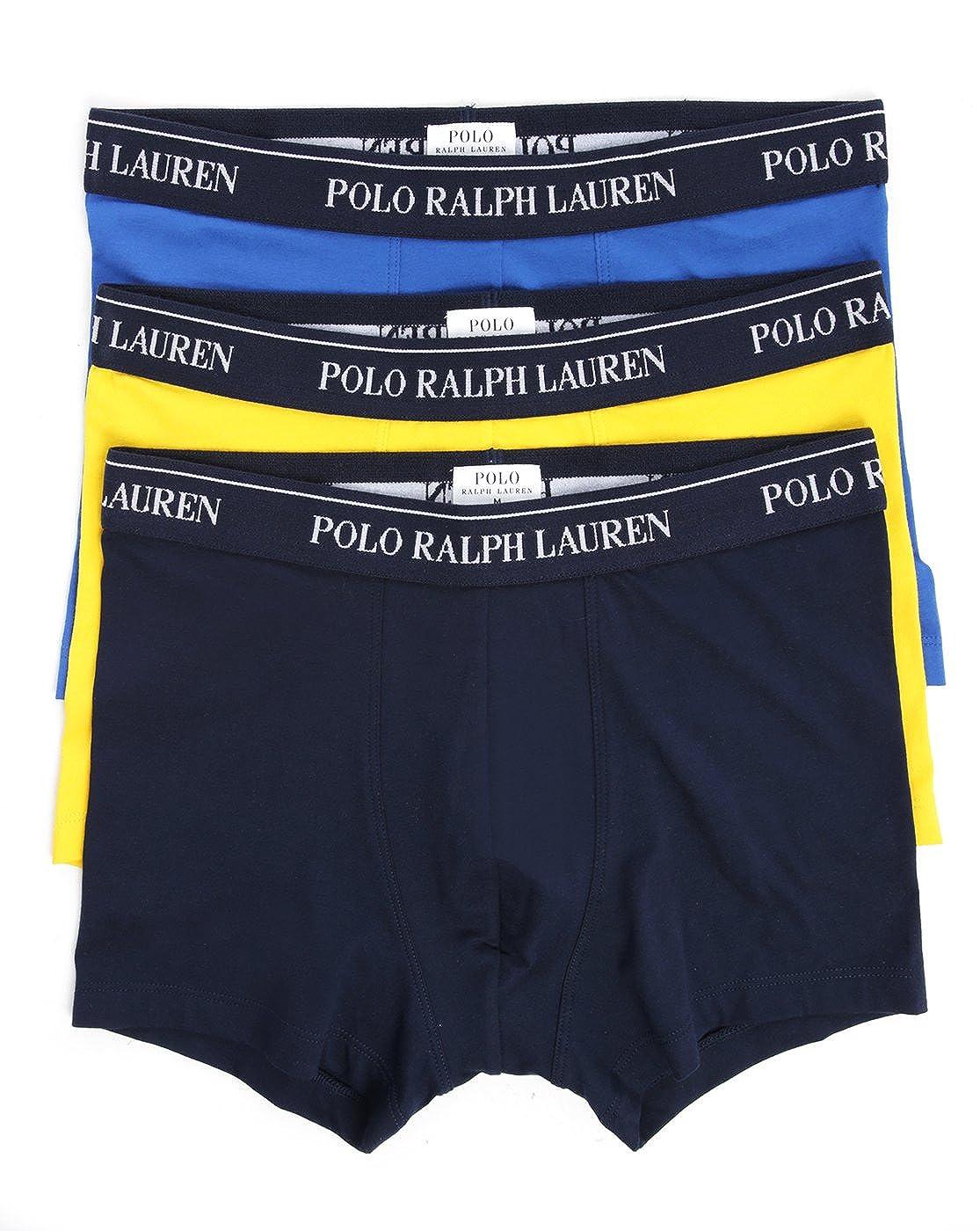 Polo Ralph Lauren 3-Unidades de Cara de bóxer de niño, Azul ...