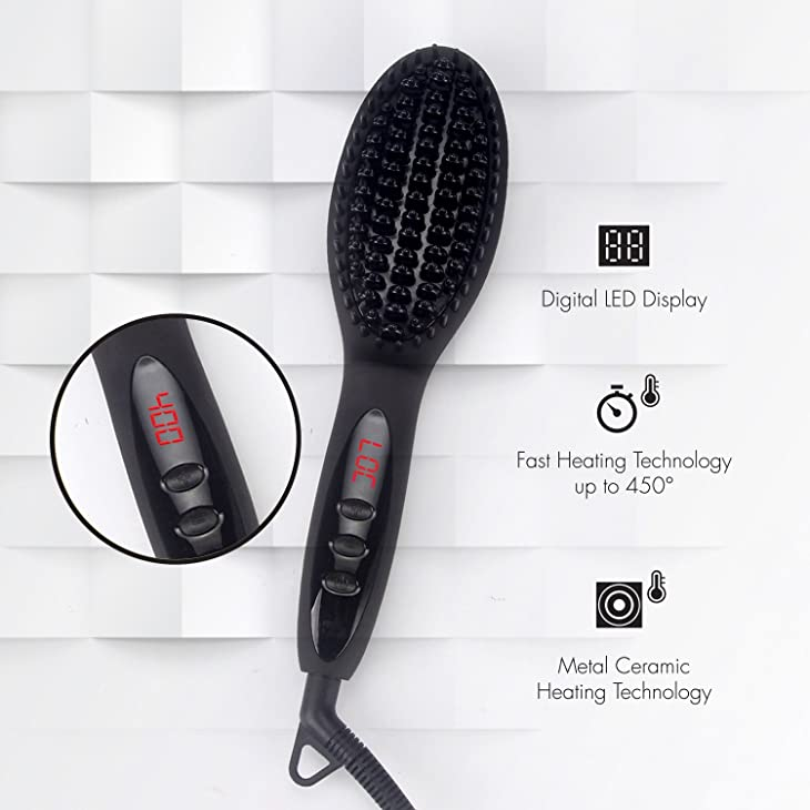 Plate Material of Hair Straightening Brush