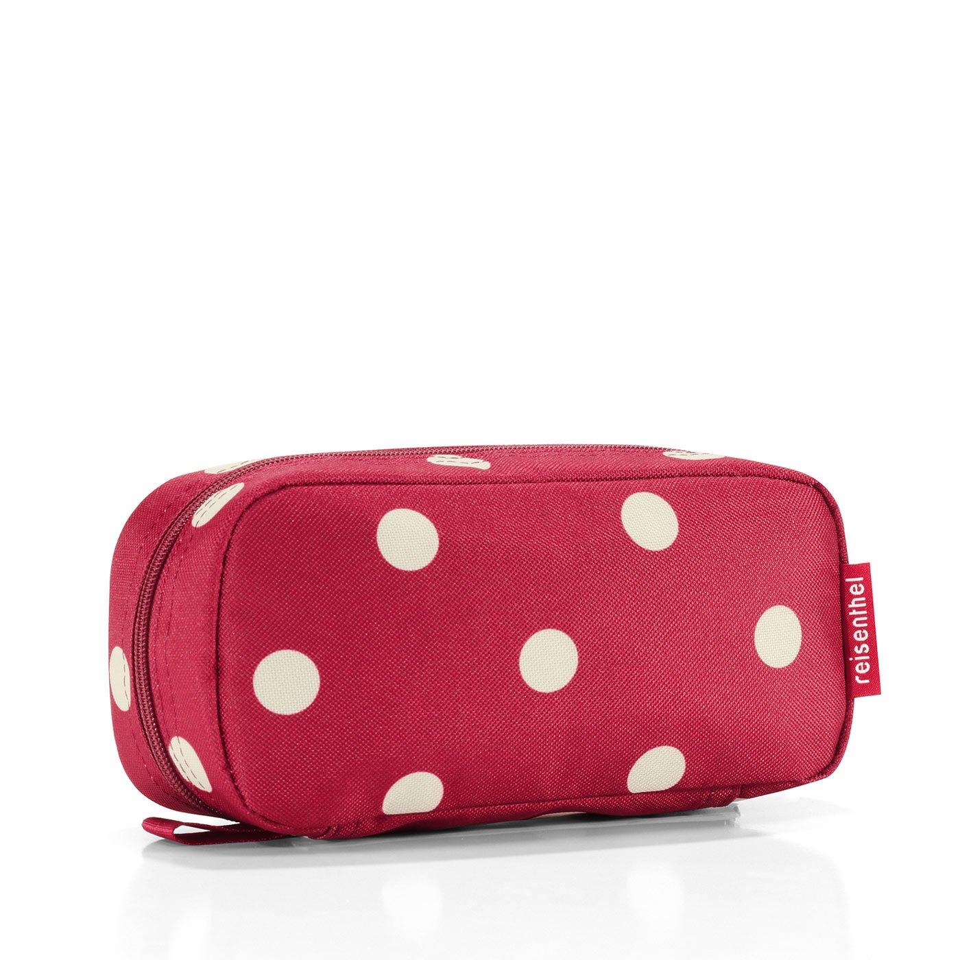 reisenthel multicase ruby dots WJ3014 Kosmetiktasche Federtasche Schminktasche Reisekosmetiktasche