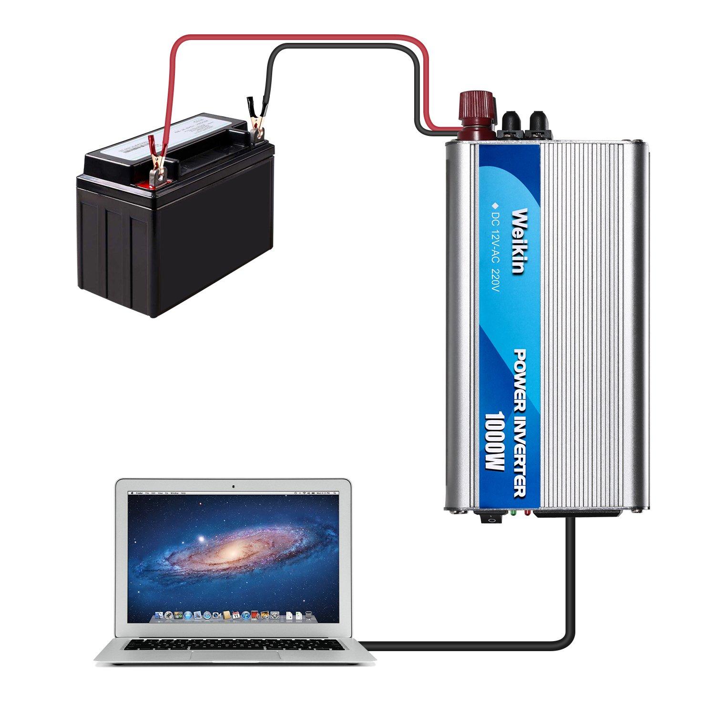 Spannungswandler 500W Wechselrichter DC 12V auf AC 220V Power Inverter Converter