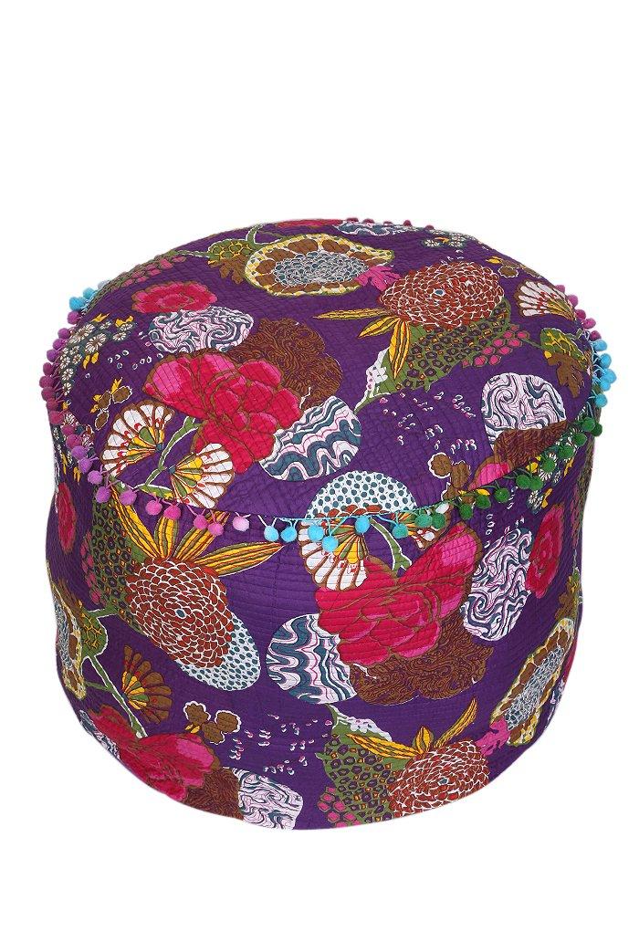 Decorativo Frutas Impreso acolchado Otomano Patchwork Escabel ...