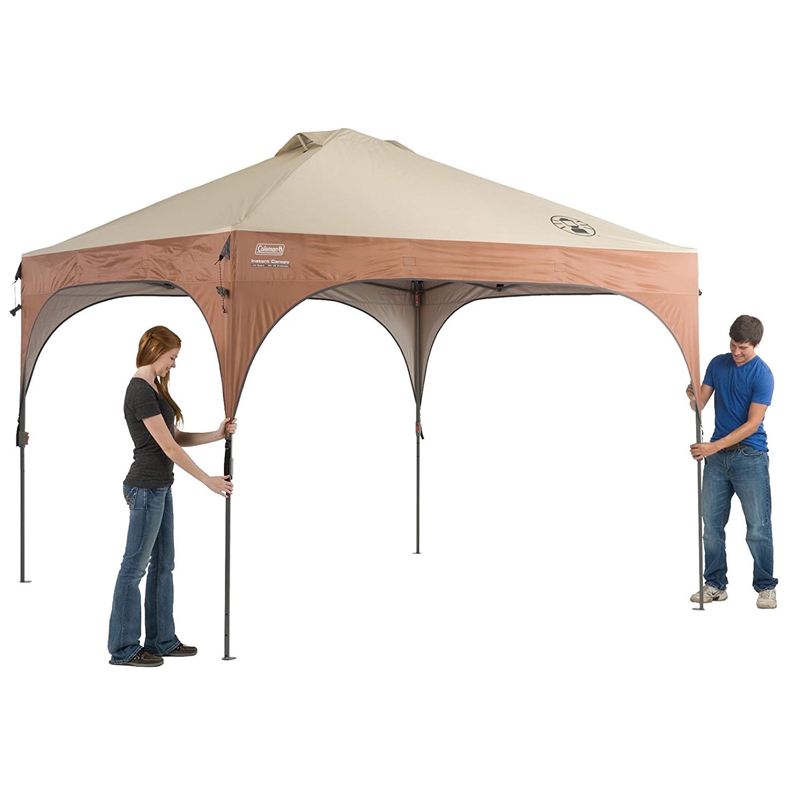 Coleman Instant Pop-Up Canopy Tent and Sun Shelter with LED Lighting, 10 x 10 Feet by Coleman (Image #6)