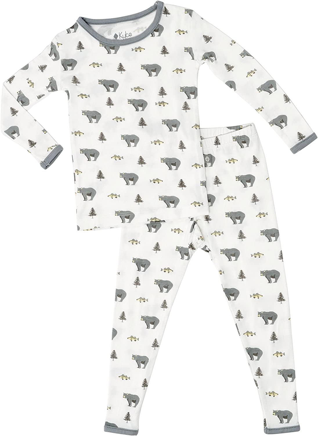 Printed Patterns KYTE BABY Bundlers 0-6 Months Baby Sleeper Gowns Made of Soft Organic Bamboo Rayon Material