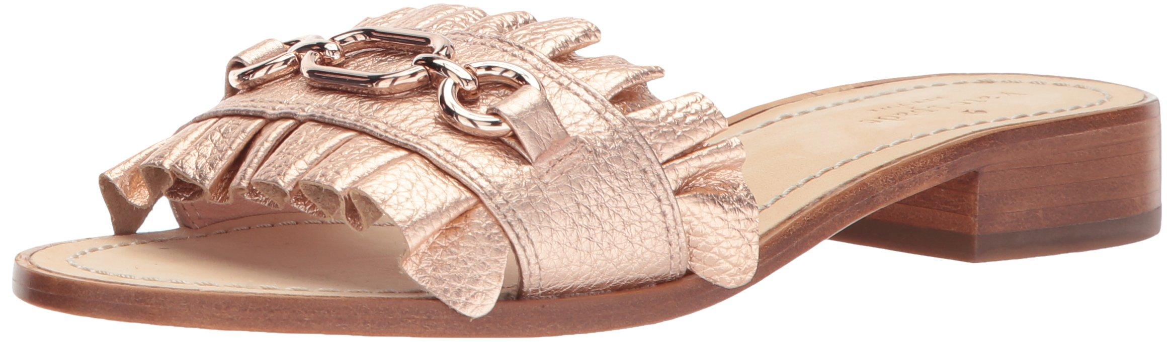 kate spade new york Women's Beau Slide Sandal, Rose Gold, 9 M US