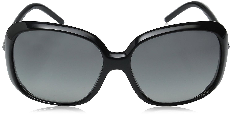 dd544702ff7b Burberry Women s BE4068-300111-59 Black Square Sunglasses  Burberry   Amazon.ca  Clothing   Accessories