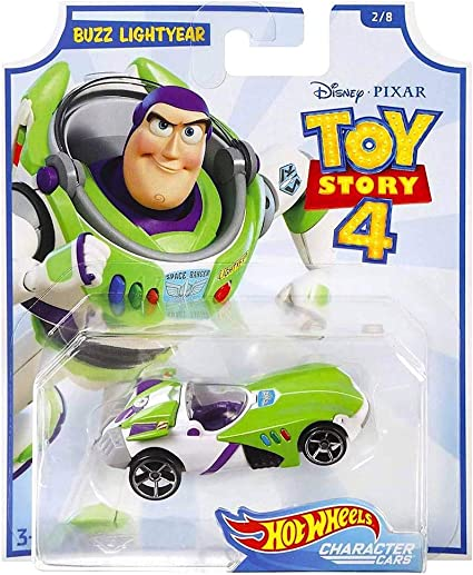Toy Story Hot Wheels 4 Character Car Rex