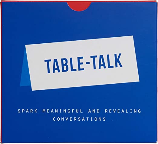 The School of Life - Table Talk Placecards - Conversation Starters for Dinner Parties