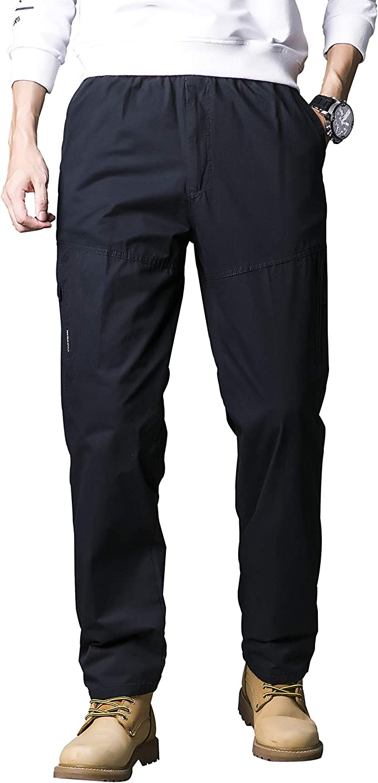 16 opinioni per Gmardar Pantaloni Uomo Cargo Pantaloni da Lavoro con Multitasca Tasche Elastica