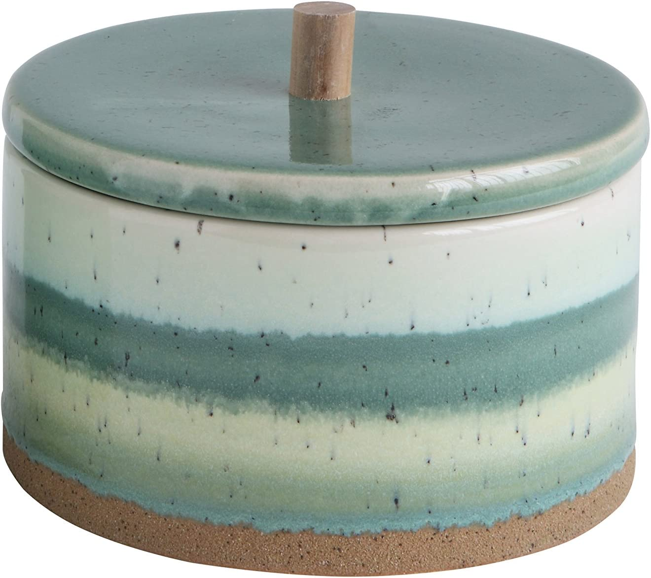 Bloomingville Stoneware Box with Lid, Short