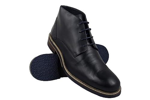 Zerimar Botas Hombre | Botines Hombre| Botas Hombre Altas Cuero| Botas Hombre Altas Piel | Botines Hombre Altos| Zapatos Hombre Vestir: Amazon.es: Zapatos y ...