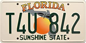 Celebrity Machines 2 Fast 2 Furious | T4U 842 | Metal Stamped License Plate