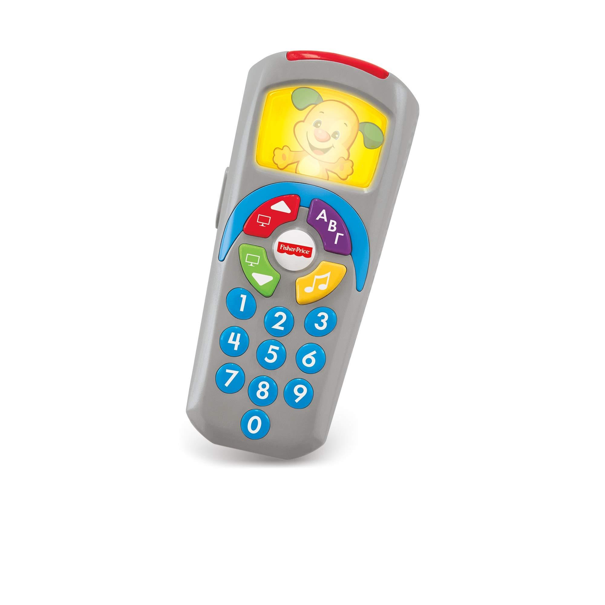 Fisher-Price Mando a distancia perrito, juguete electrónico bebé +6 meses (Mattel