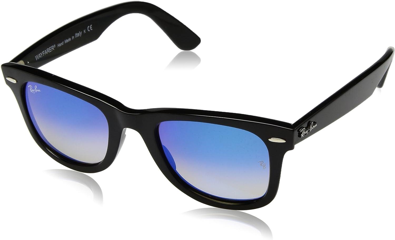 RAY-BAN 0rb4340 601/4o 50 Gafas de sol, Black, Unisex