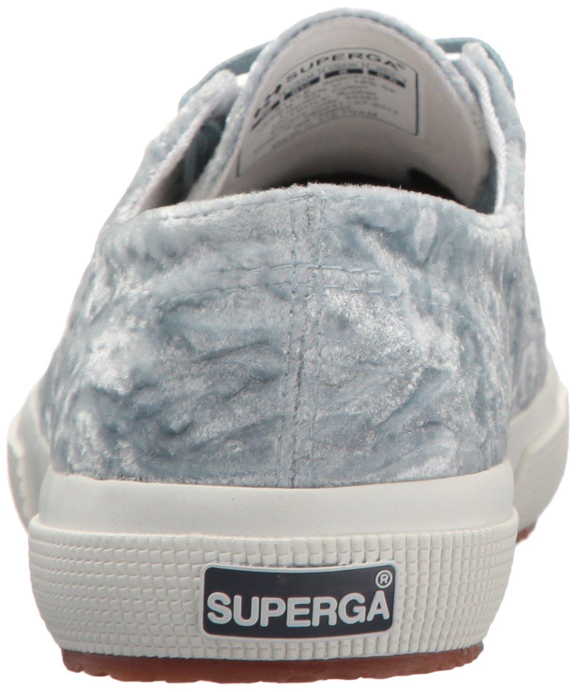 Superga Women's 2750 Crush Velvet Sneaker B073H9VQX5 39 Blue M EU (8 US)|Light Blue 39 b8c104