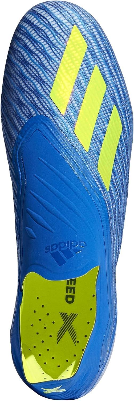 adidas X 18+ FG, Chaussures de Football Homme Bleu Fooblu Syello Cblack Fooblu Syello Cblack