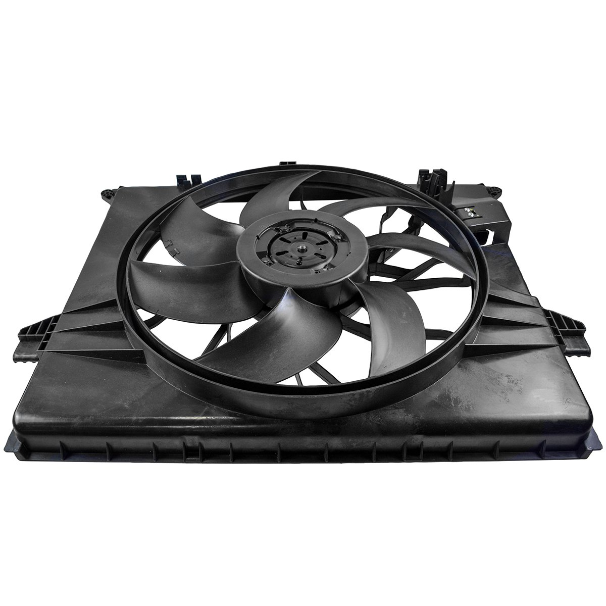 Radiator Cooling Fan Assembly for Mercedes Benz ML350 ML450 ML500 R350 R320 R500