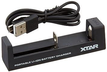 Amazon.com: Cargador de batería inteligente, igrace XTAR MC1 ...