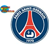 Sticker Autocollant Logo Football PSG Paris 10cm