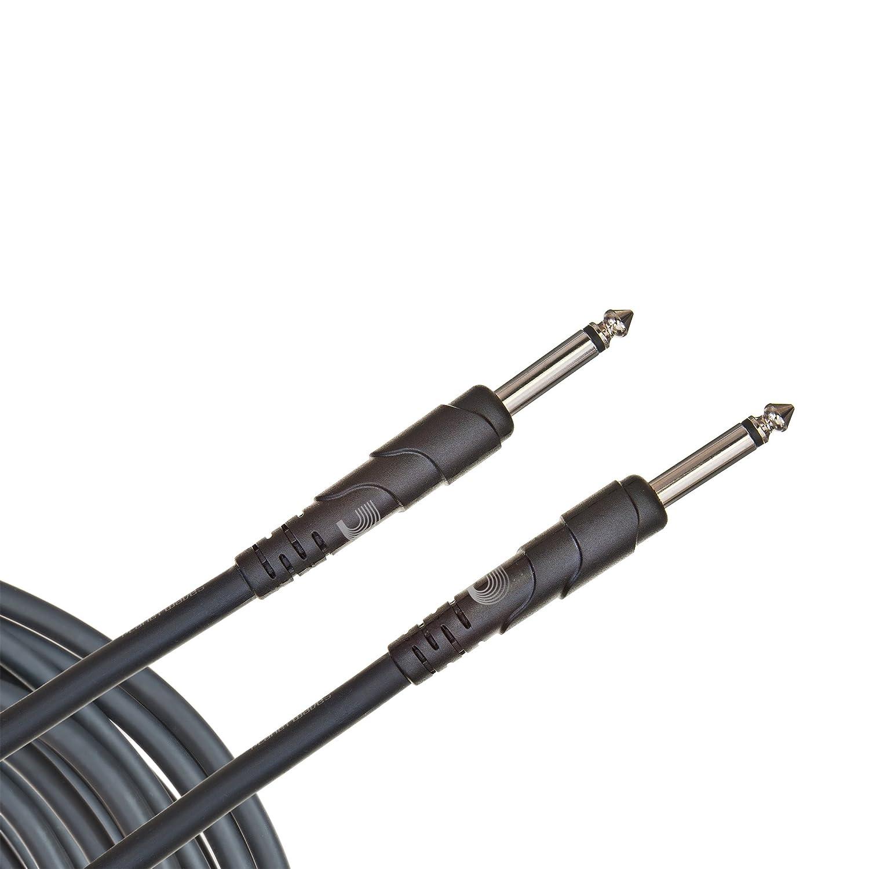 Planet Waves PW-CGTRA-10 Classic Series Instrumentenkabel 3m (10 Fuß) schwarz D'Addario Ltd