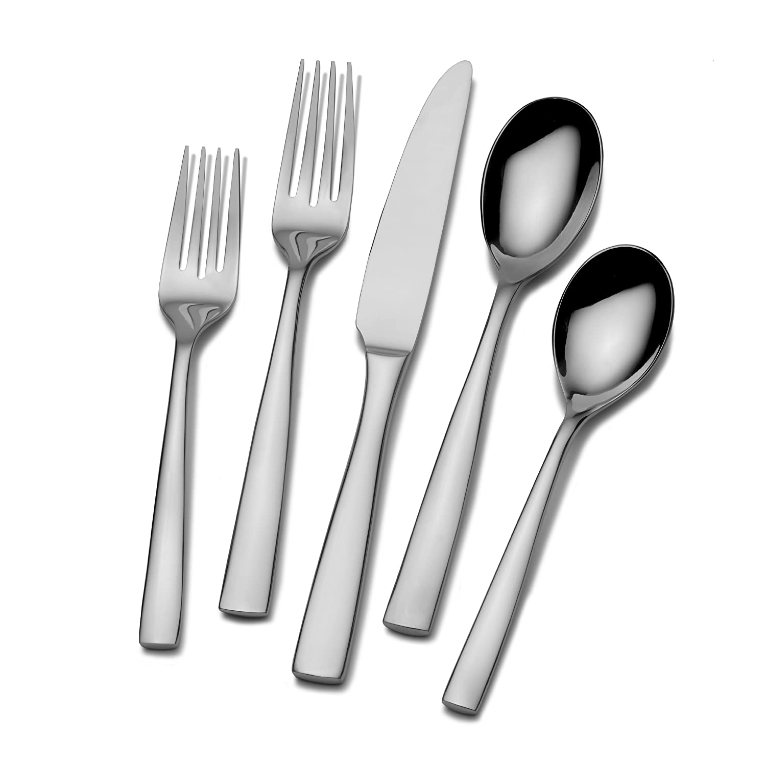 Mikasa Delano 20-Piece Flatware Set, Service for 4 5084358