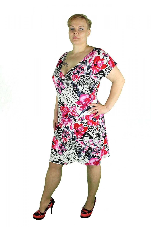 Kleid Zigeuner-Schnitt, S/M/L/XL/XXL z. Wahl, kurz, Damen ...