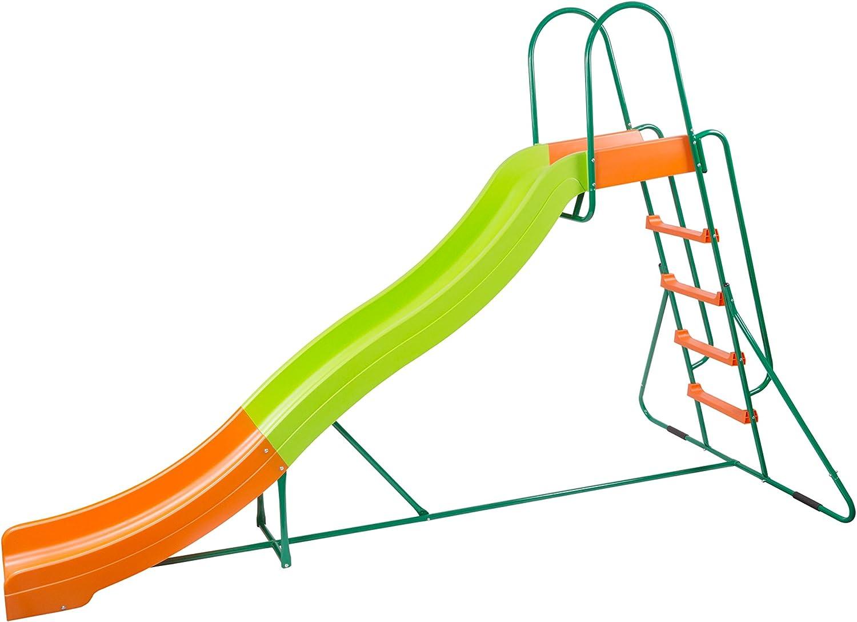 6ft Wavy Kids Water Slide for Garden In /& Outdoor Childrens Games Toy Activity