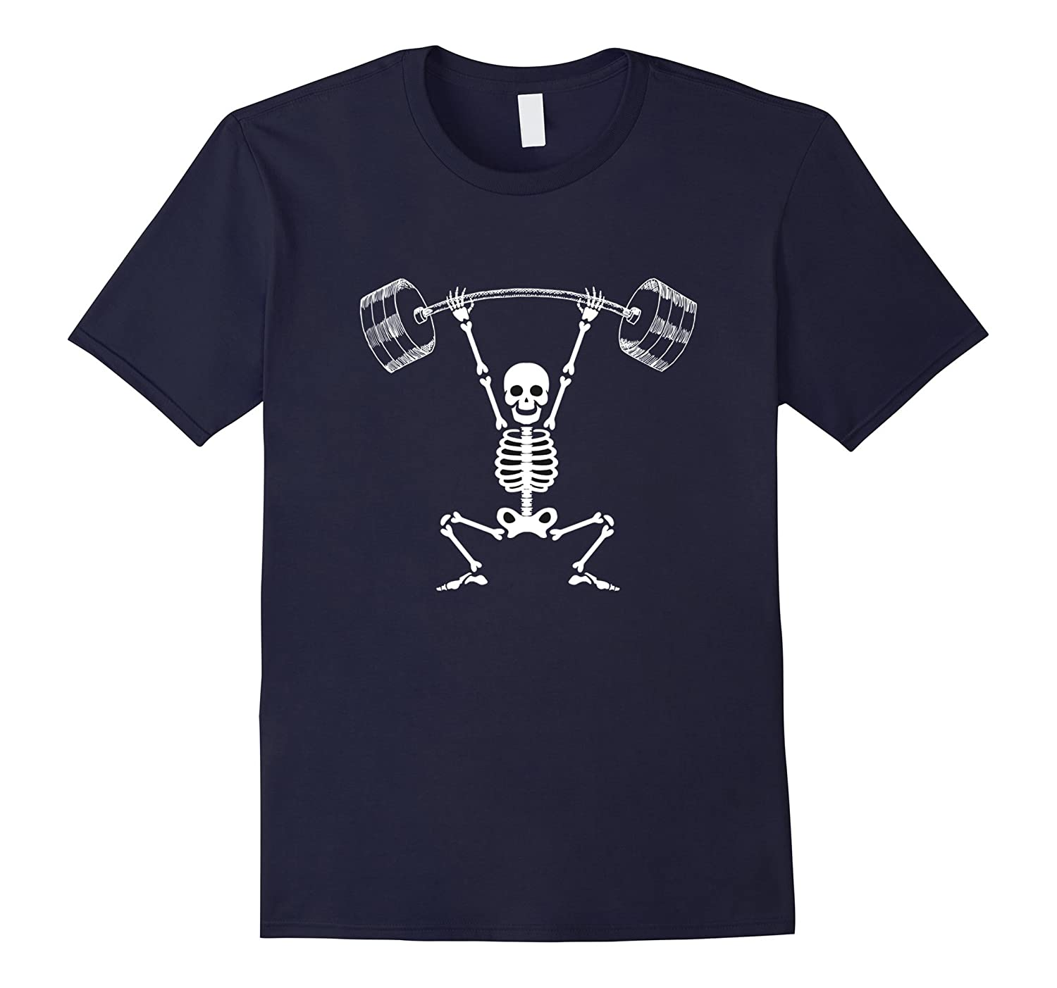 skeleton workout shirt-FL